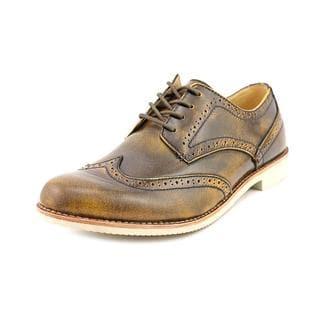 J.D.Fisk Men's 'Sadler' Leather Casual Shoes