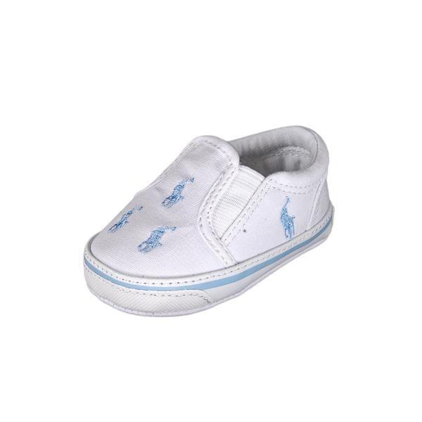Ralph Lauren Layette Boy (Infant) 'Bal Harbour Repeat' Canvas Casual Shoes