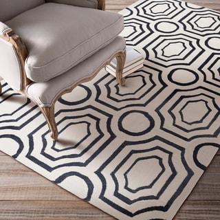 angelo:HOME Hand-tufted Nola Hudson Park Polyester Rug (5' x 7'6)