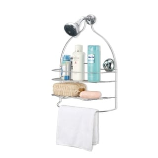 Shower Caddy with Washcloth Bar