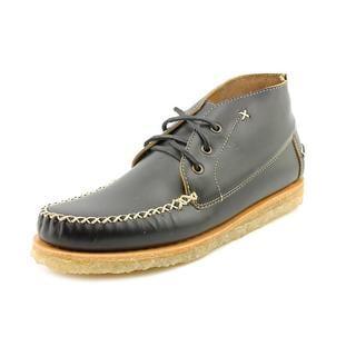 J.D.Fisk Men's 'Mathis' Leather Dress Shoes
