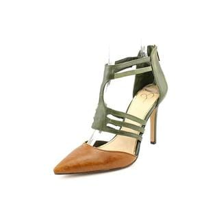 Jessica Simpson Women's 'Clementh' Leather Heels