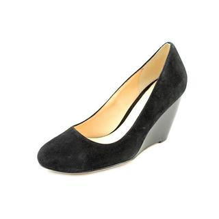 Cole Haan Women's 'Air Lainey Wedge 75 II' Regular Suede Dress Shoes