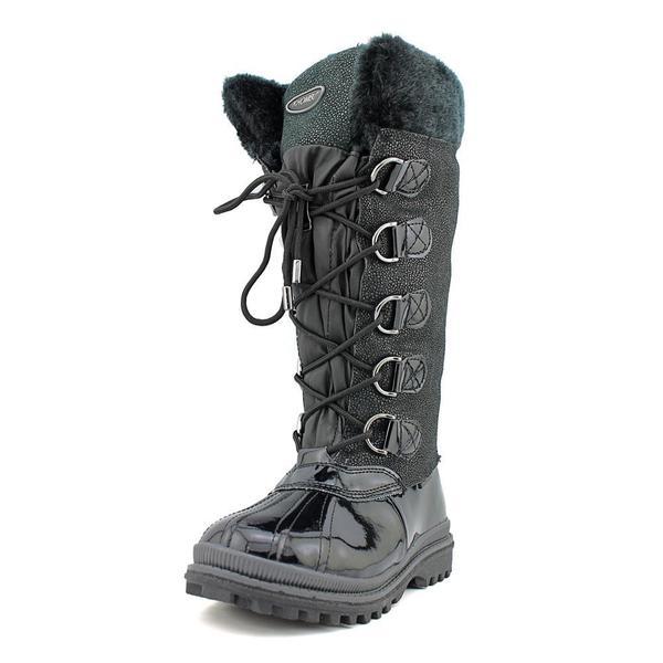 Khombu Women's 'Quechee Stingray' Patent Boots (Size 7 )