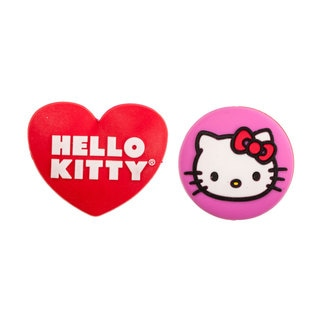 Hello Kitty Face and Heart Tennis Vibration Dampeners