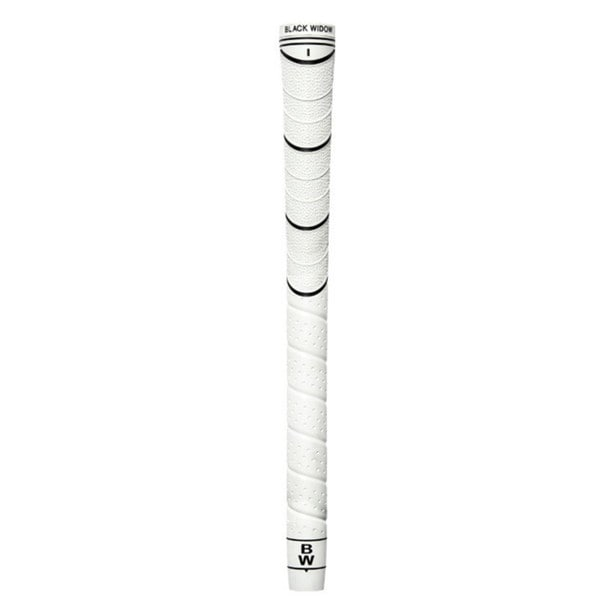 Black Widow Hybrid Standard White Golf Grip