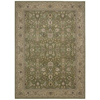 kathy ireland by Nourison Antiquities Sage Rug (5'3 x 7'4)