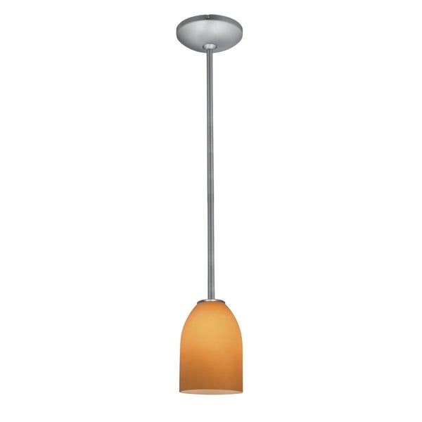 Access Lighting Bordeaux Glass 1-light Pendant with Rods