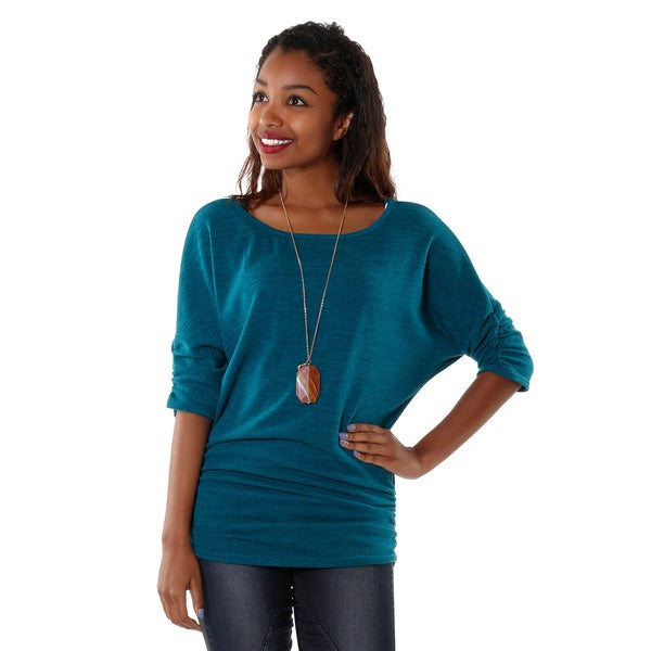 Hadari Womens Dolman Sweater Top