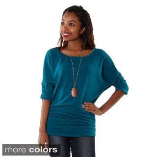 Hadari Womens Dolman Sweater Top