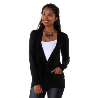 Hadari Womens Button Up Cardigan