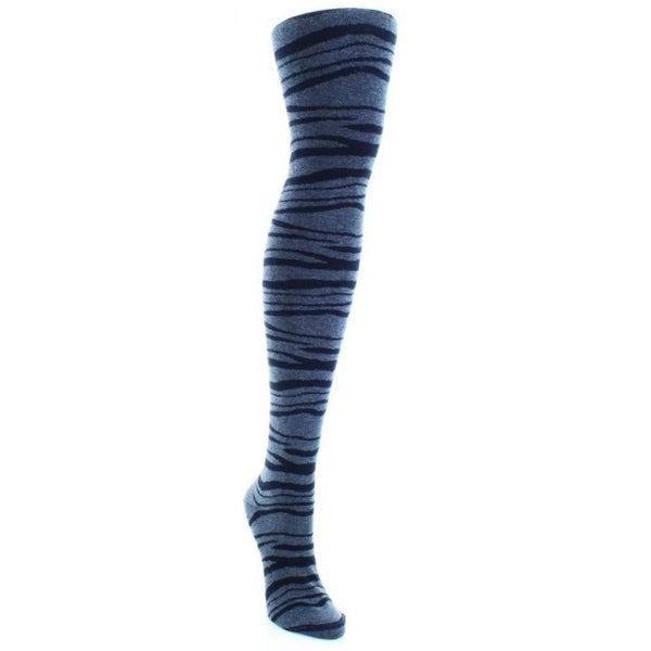 MeMoi Zebra Sweater Tights