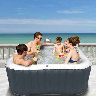 MSpa Alpine 62-inch Family Inflatable Bubble Hot Tub