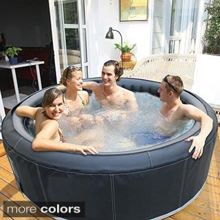 M-Spa Camaro B-130 71-inch 4-person Inflatable Bubble Hot Tub