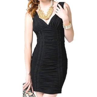 Women's Romantic Lace Drop Back Dress
