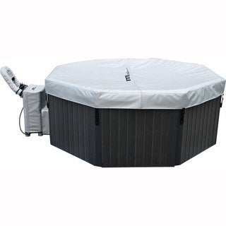 MSpa Super Tuscany 6-person Outdoor Woodframe Bubble Spa