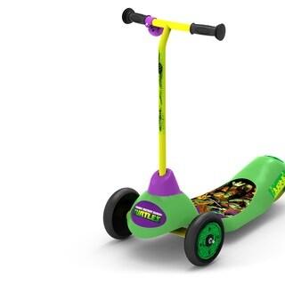 Teenage Mutant Ninja Turtles Safe Start 3-Wheel Electric Scooter