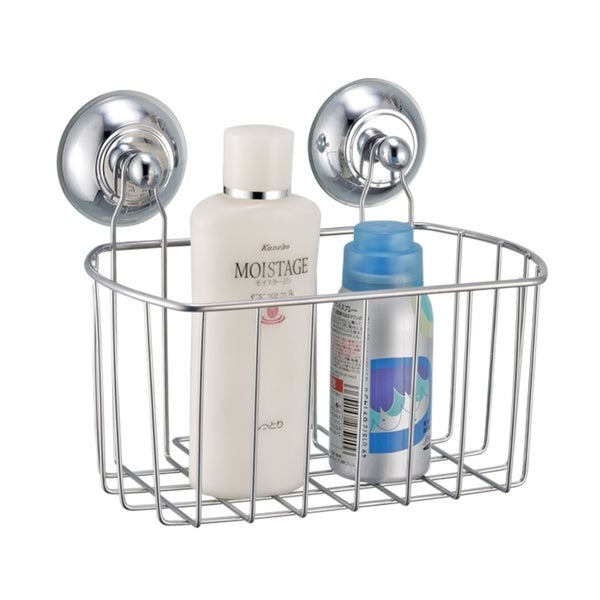 Metal Bath Caddy with Wall Suction Cups 14503193