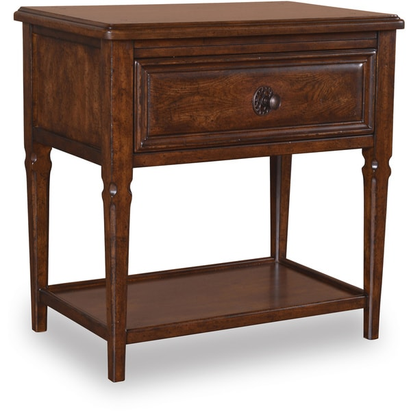 Oak 1-drawer Bedside Chest