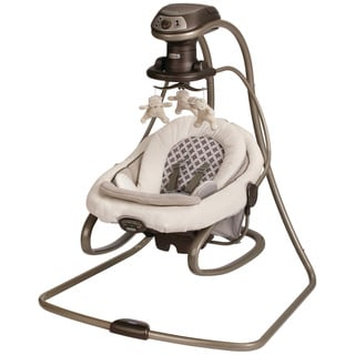 Graco DuetSoothe Swing and Rocker in Antiquity