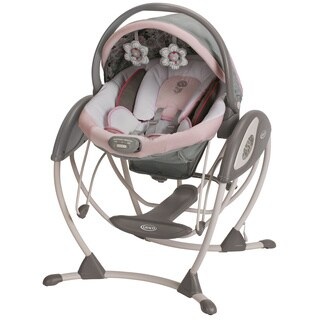 Graco Glider Elite Swing in Minnies Garden