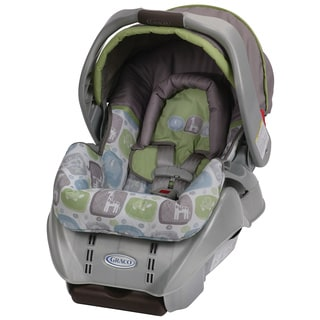 Graco SnugRide Classic Connect Infant Car Seat in Sequoia