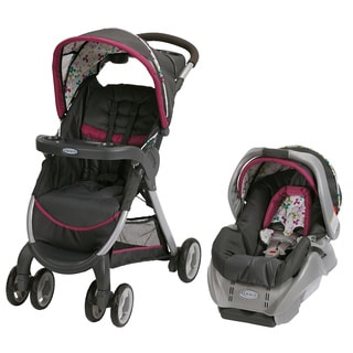 Graco FastAction Fold Classic Connect Travel System in Pippa