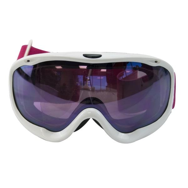 White Snow Goggles