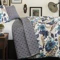 Lush Decor Floral Paisley 3-piece Quilt Set
