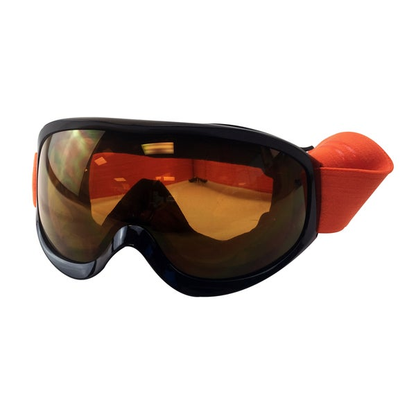 Orange Snow Goggles