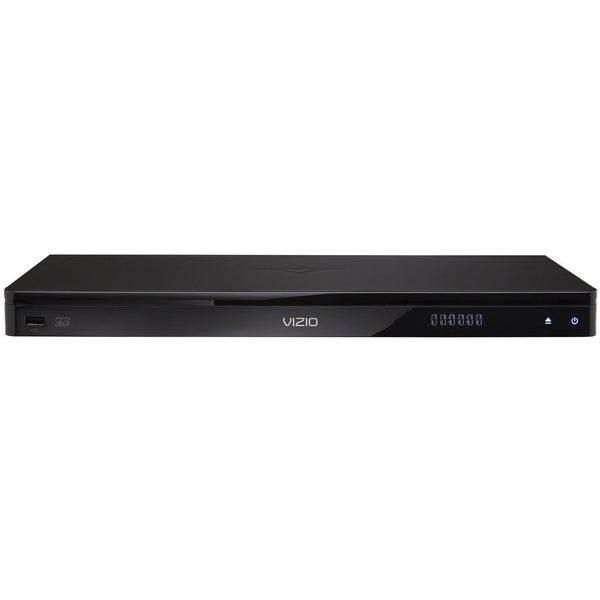 Vizio VBR337 1080p HD 3D Blu-Ray/ DVD Player with Wi-Fi Internet Apps and QWERTY Remote (Refurbished)