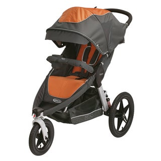 Graco Relay Click Connect Performance Jogger in Tangerine