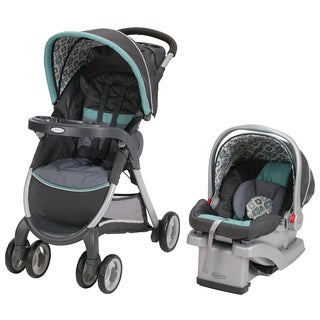 Graco FastAction Fold Click Connect Travel System in Affinia