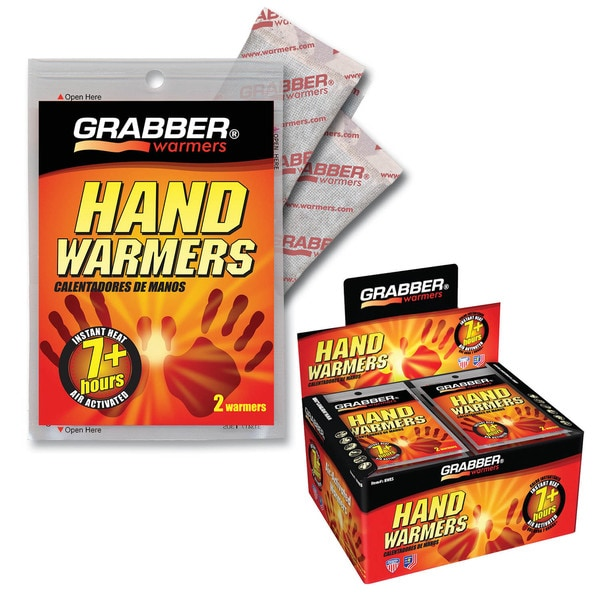 Grabber Hand Warmers (Box of 40 Pairs)