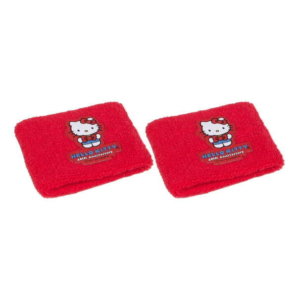 Hello Kitty Sports 40th Anniversary Red Wristbands