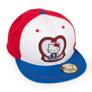Hello Kitty Sports 40th Anniversary Heart Street Hat