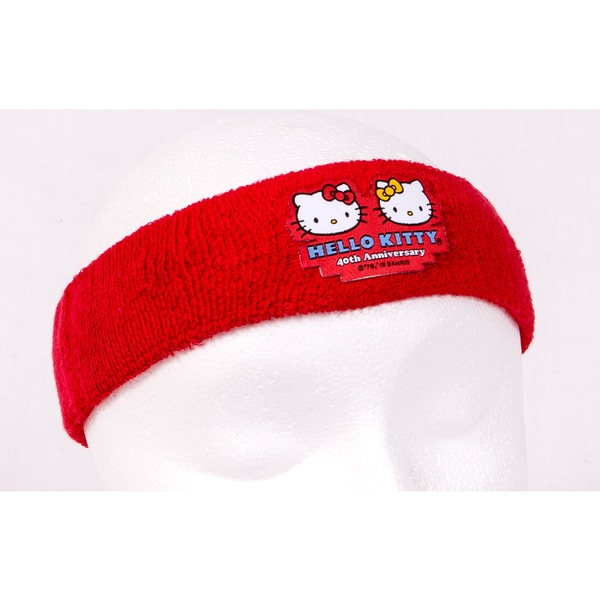 Hello Kitty Sports 40th Anniversary Red Headband