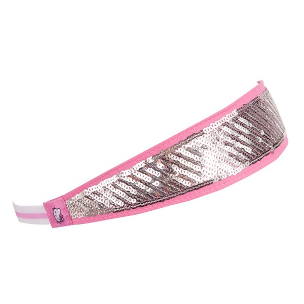 Hello Kitty Sports Pink Glitter Headband