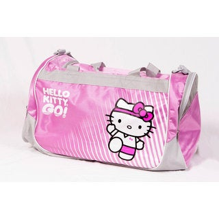 Hello Kitty Sports Pink Duffle Bag