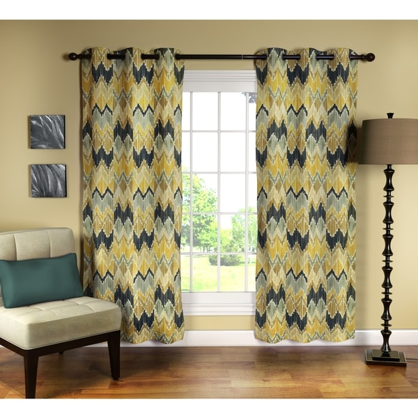 Zyphen 84-inch Curtain Panel Pair