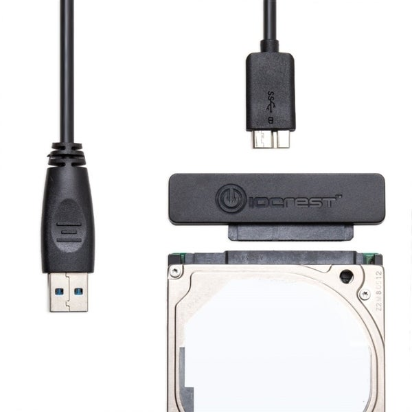 IOCrest USB 3.0 To SATA 3G Cable Adapter For 2.5-Inch Hard Drives