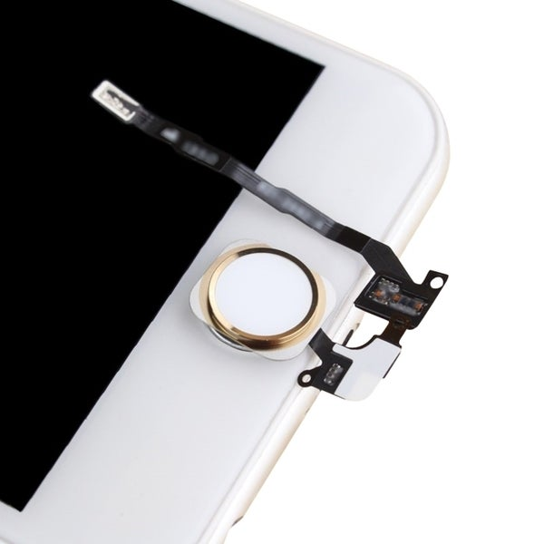 INSTEN Gold Touch ID Sensor Home Button Key Flex Cable Ribbon Assembly For Apple iPhone 5S/ 5