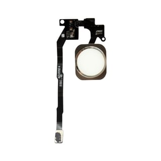 INSTEN White Touch ID Sensor Home Button Key Flex Cable Ribbon Assembly For Apple iPhone 5S/ 5