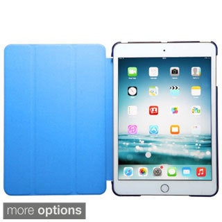 INSTEN Premium Plain Color Leather Tablet Case Cover For Apple iPad Mini 1/ 2 With Retina Display/ 3