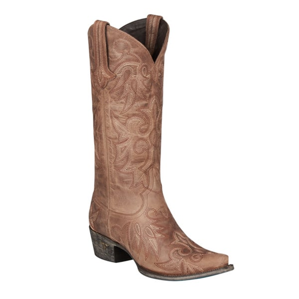 Lane Boots Wild Ginger Cowboy Boot Dark Brown