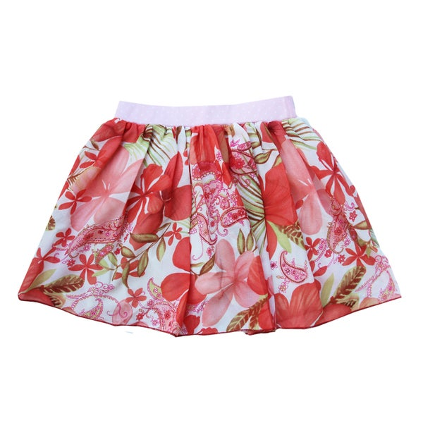 Ola Lola Peach Skirt