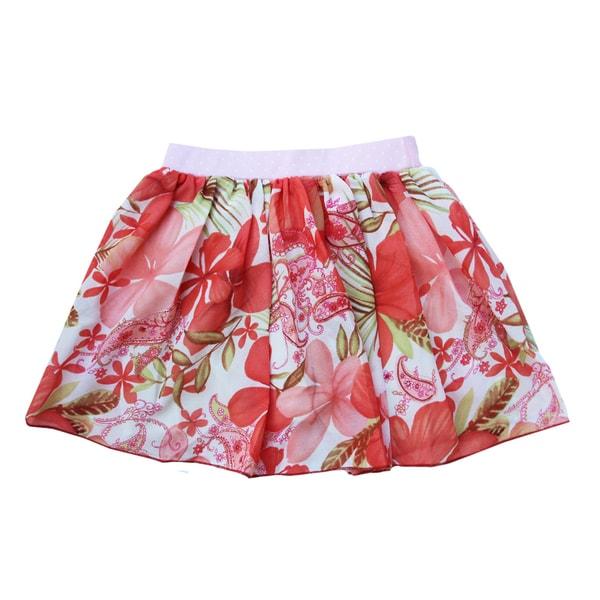 Ola Lola Peach Skirt