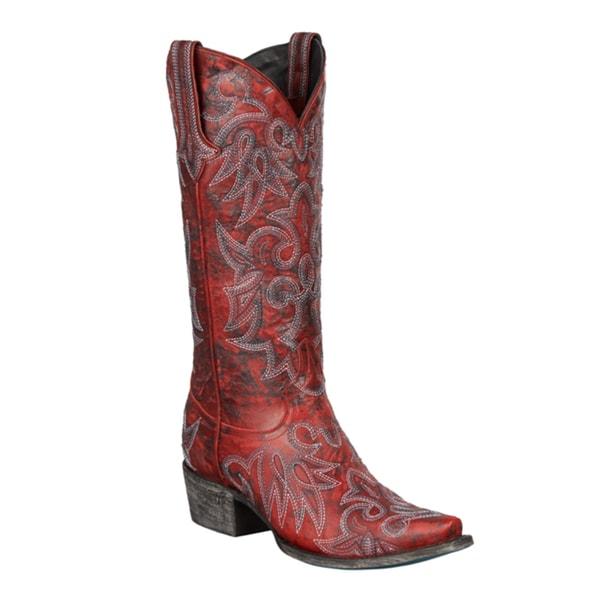 Lane Boots Wild Ginger Cowboy Boot
