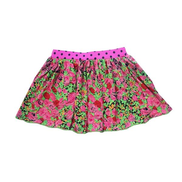 Ola Lola Rouched Skirt