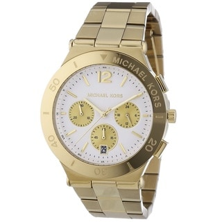 Michael Kors Women's MK5933 Wyatt Gold Tone Ion Plated Steel Watch